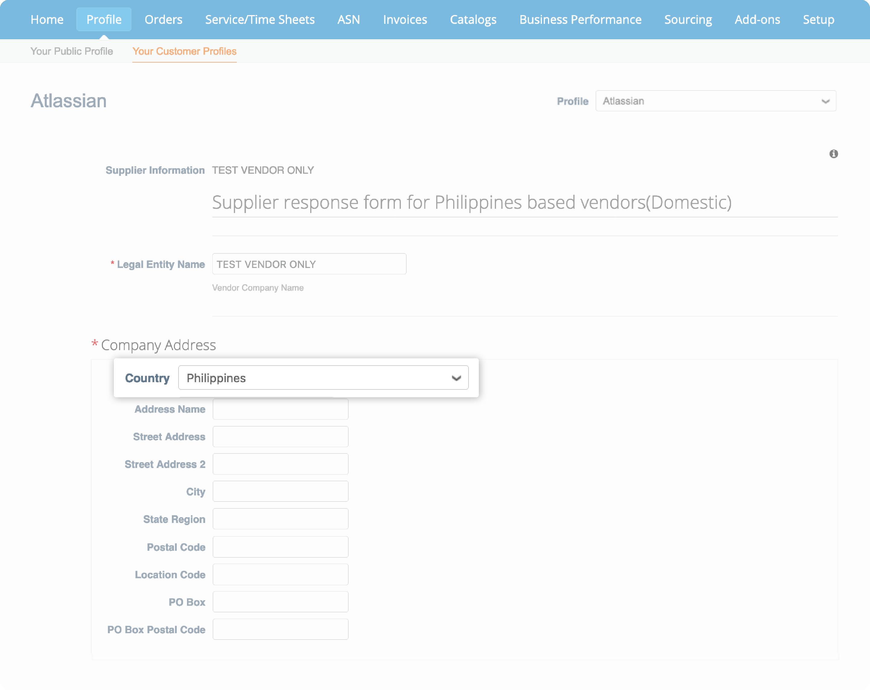 Philippines form