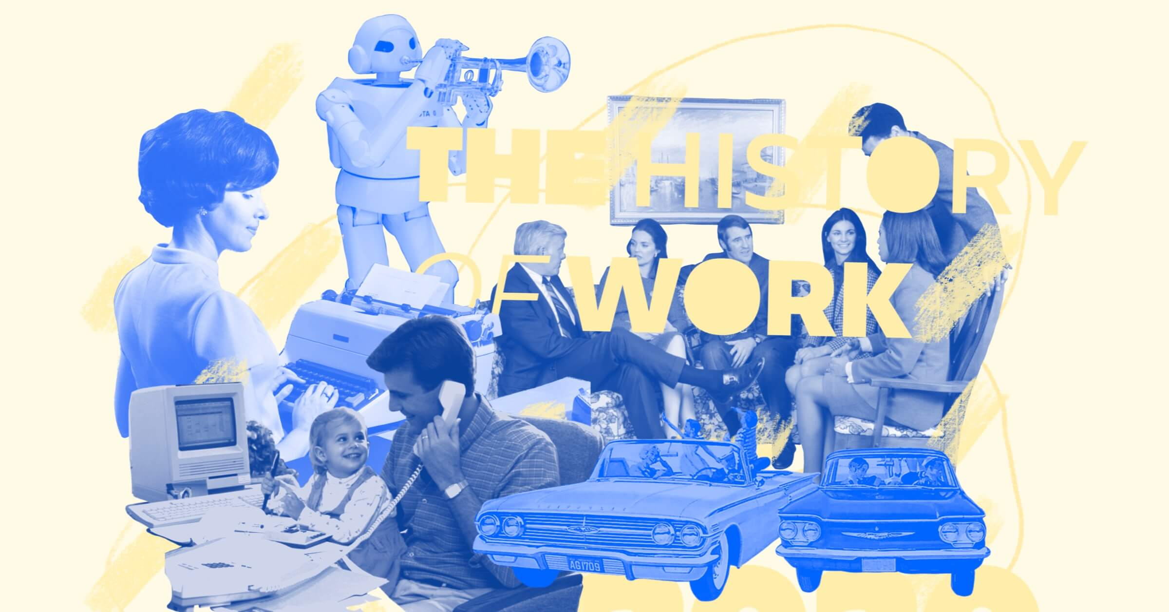 A 2020 Retrospective on the History of Work - Infographic