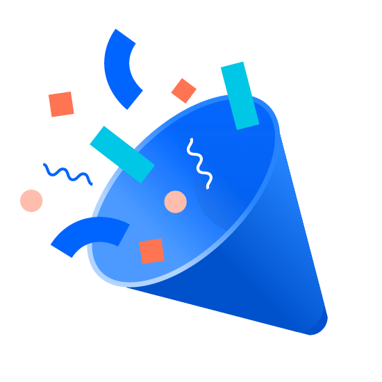 Ilustracja — konfetti