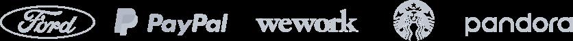 Logotipos dos clientes
