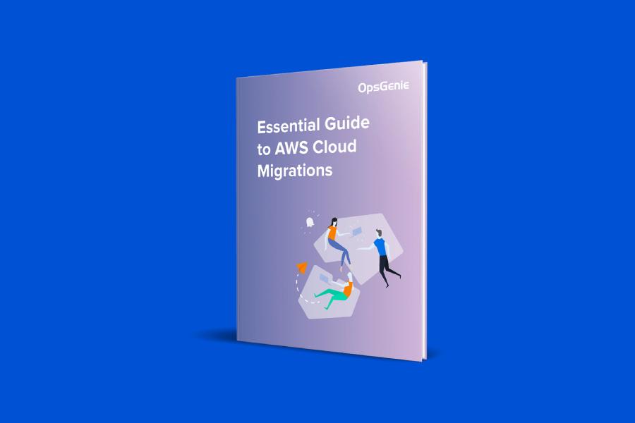Copertina del PDF Guida essenziale alle migrazioni al cloud AWS