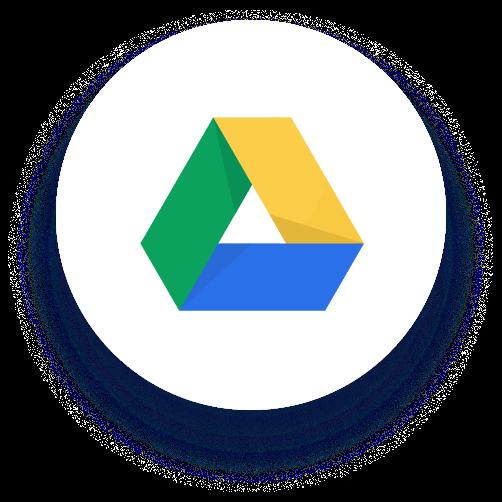 Google Drive のロゴ