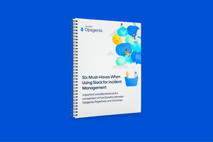 6 Must Haves for using Slack for Incident Management PDF cover