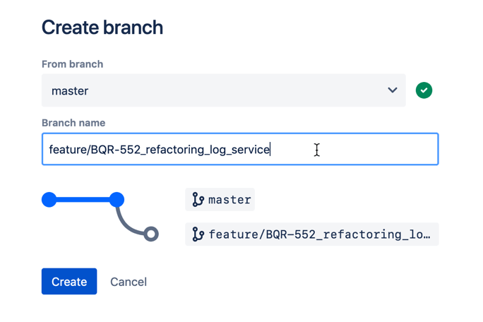 Creare un branch