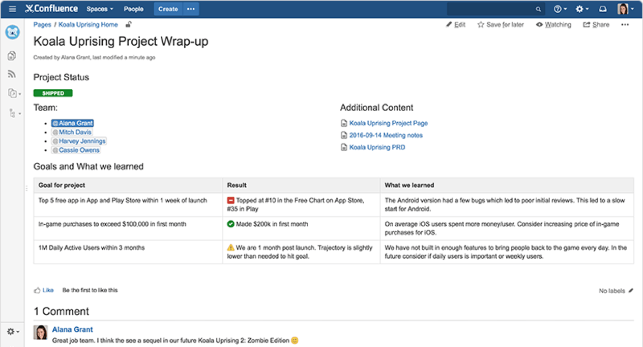 project-management-software-confluence-project-overview-screenshot
