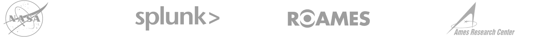 NASA Splunk 徽标