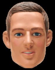 Muñeco cabezón de Jay Simons
