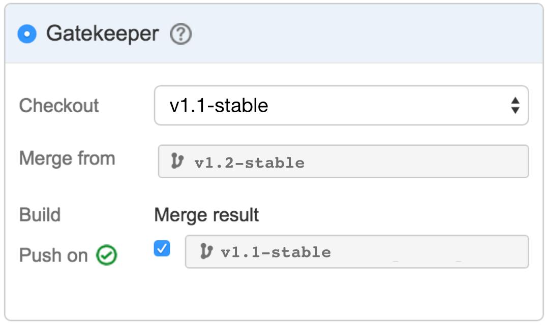 Captura de tela do Gatekeeper | Atlassian CI/CD