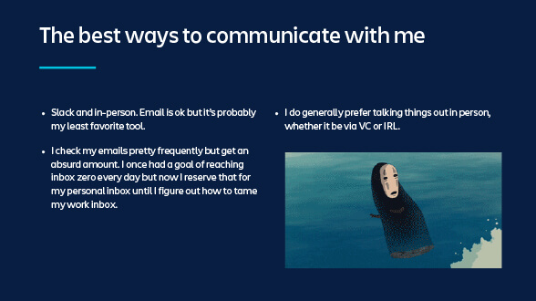 Picture on best ways to communicate