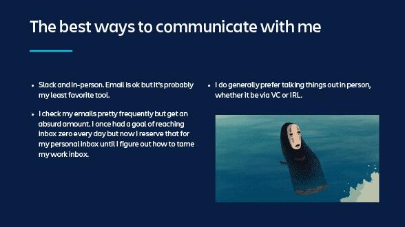 コミュニケーションに最適な方法の図