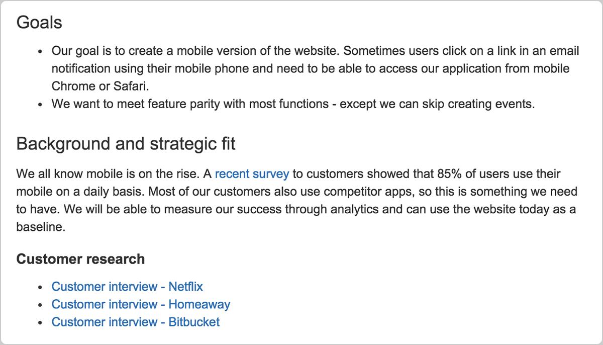 Agile Produktanforderungen | Atlassian Agile Coach