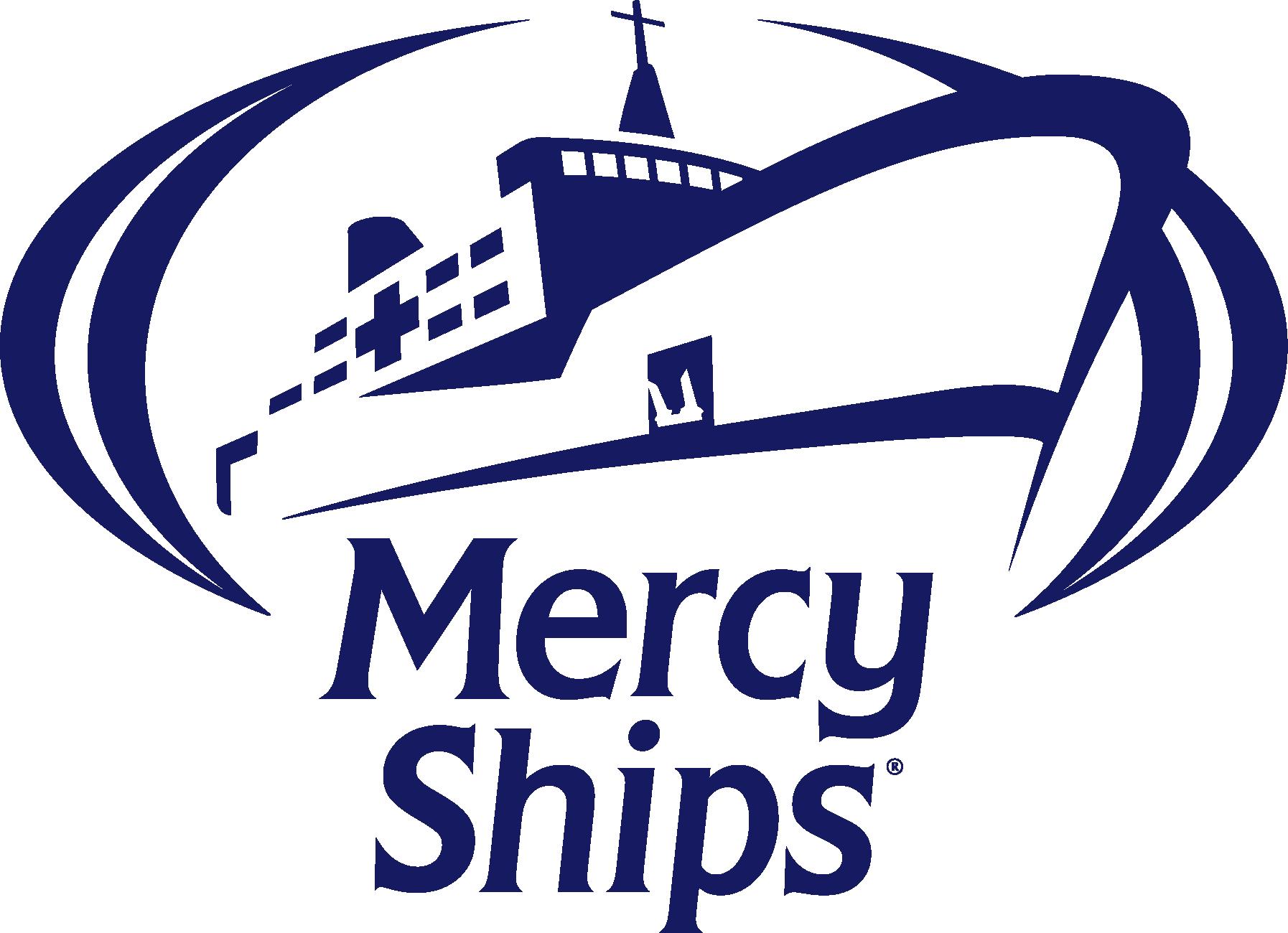 Logo da Mercy Ships