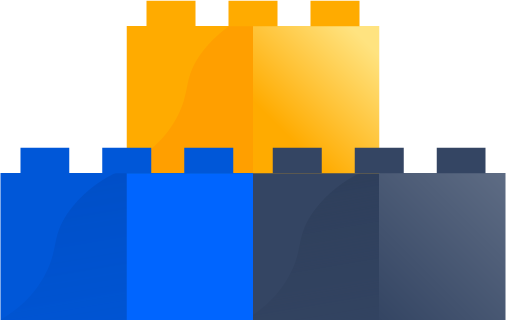 Stacked blocks icon
