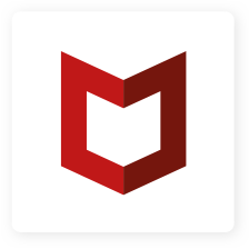 McAfee 로고
