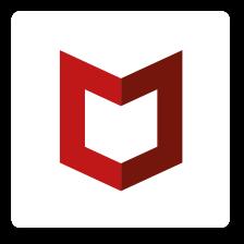 A McAfee emblémája