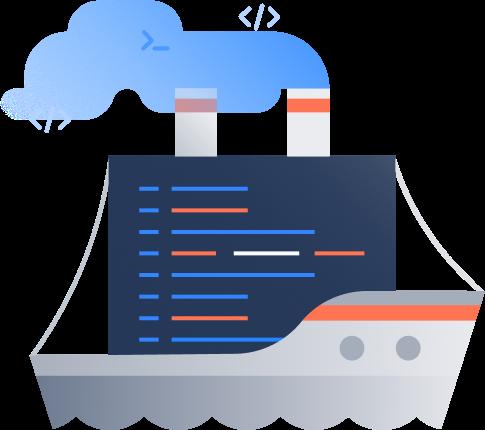 Code release ship