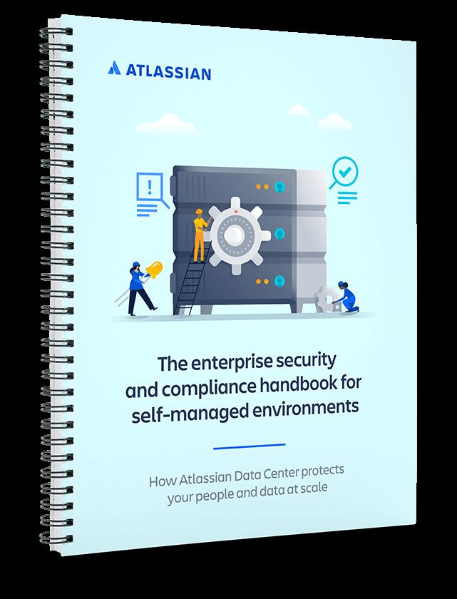 PDF-Titelbild des Enterprise-Handbuchs zu Sicherheit und Compliance