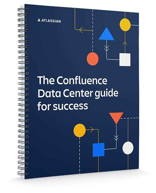 The Confluence Data Center guide for success report cover