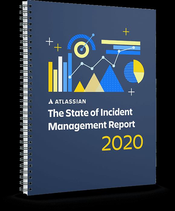 Portada del informe del estado de la gestión de incidentes de 2020