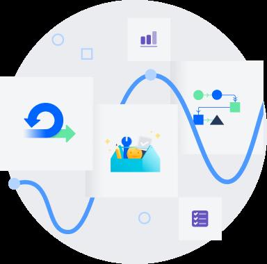 Illustrazione di roadmap