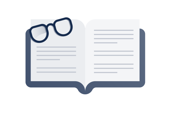 knowledge base icon illustration