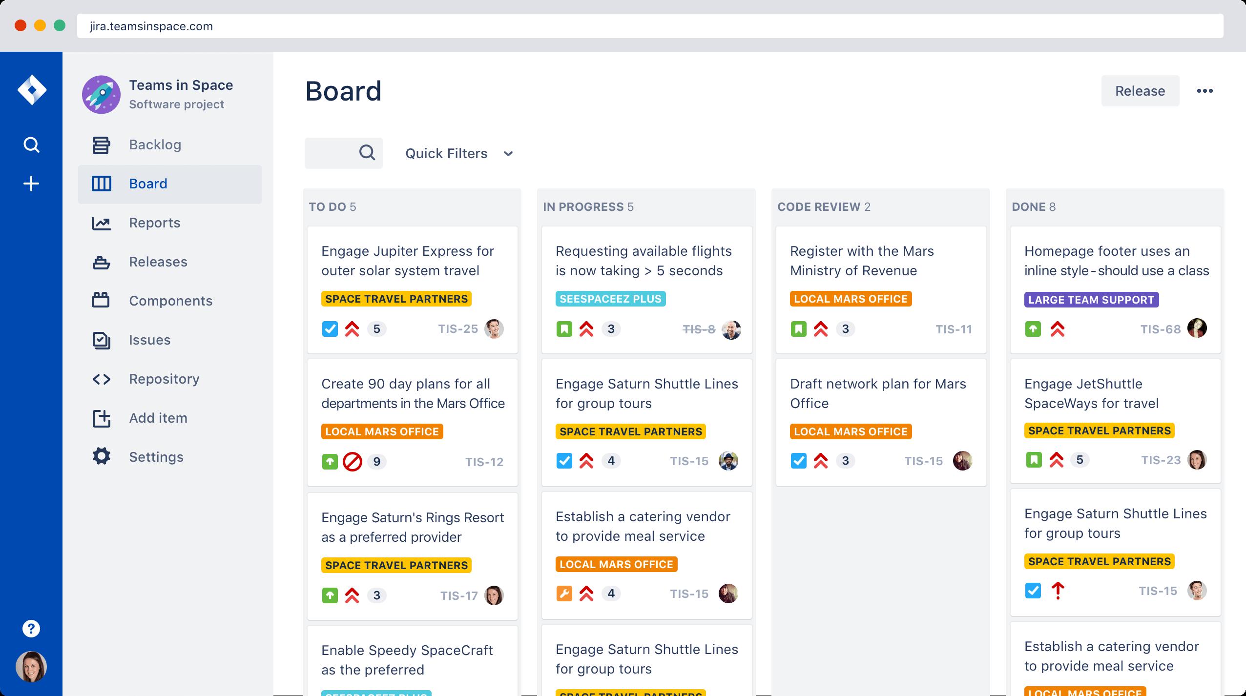 Jira | Software de seguimiento de proyectos e incidencias | Atlassian