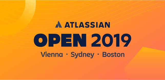 「オープン」2019 のバナー