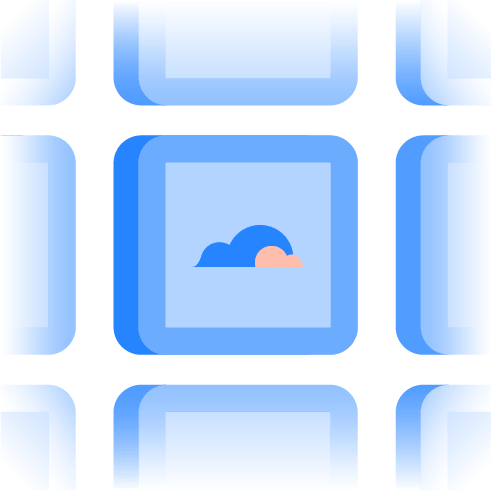 Tiles with Clouds