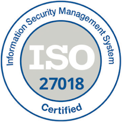 Logo Information Security Management System Certified