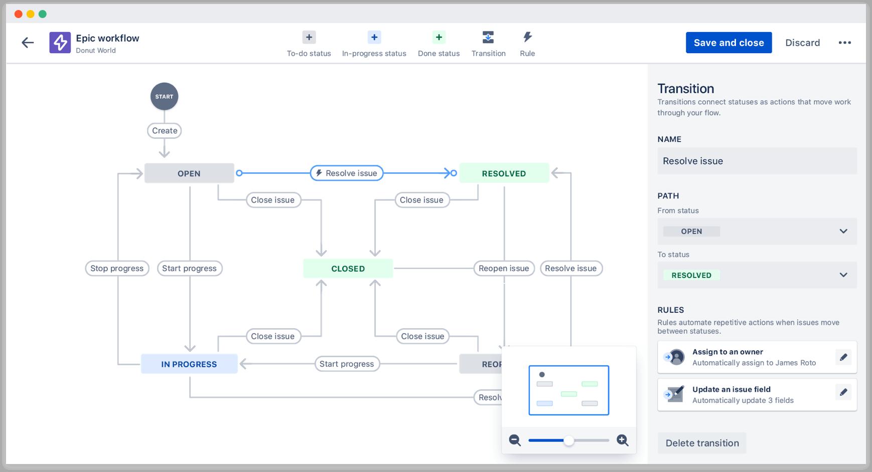 Der Workflow-Editor