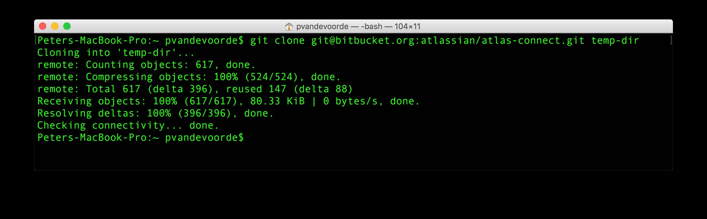 clone ori repository