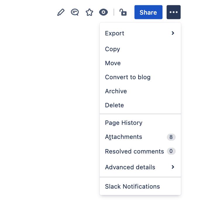 Selecting page history