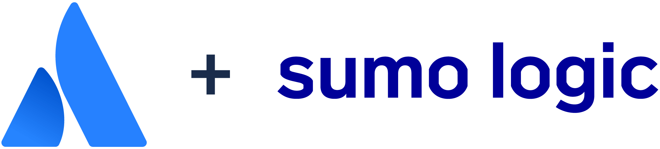 Atlassian logo + Sumo Logic logo