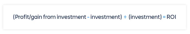 Como calcular o retorno sobre o investimento