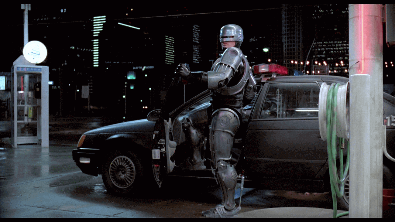Screenshot from Robocop movie