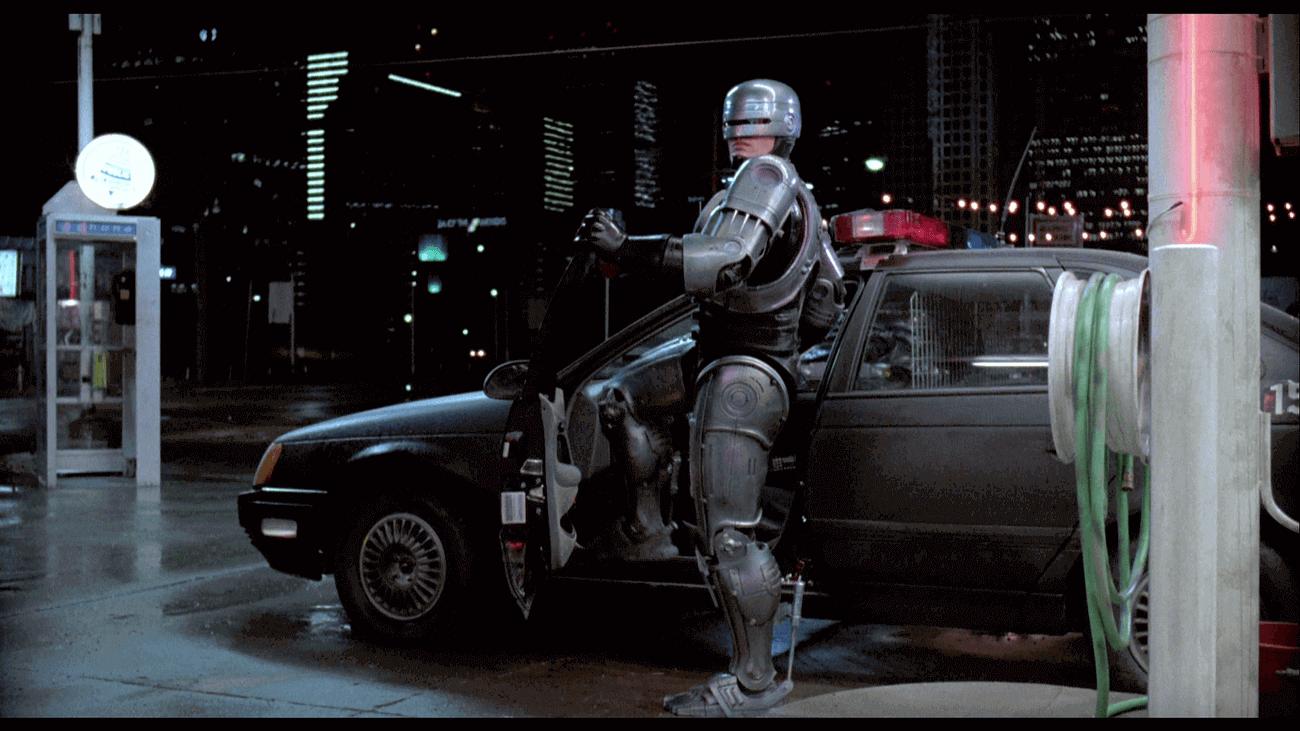 Screenshot from Robocop movie