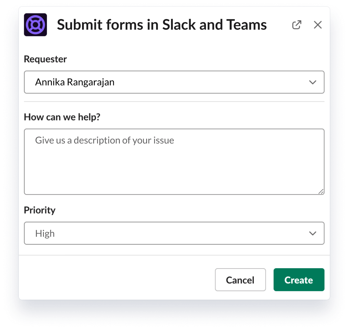 Envío de informes en Slack