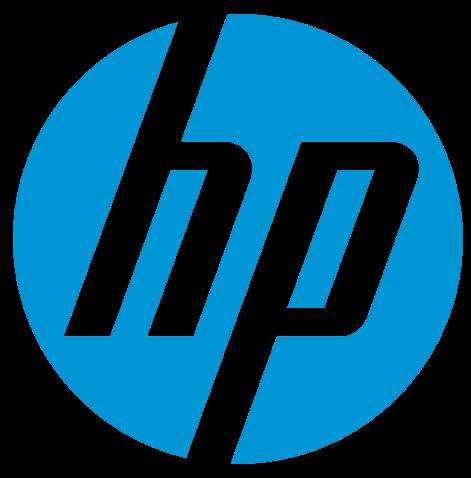 HP のロゴ