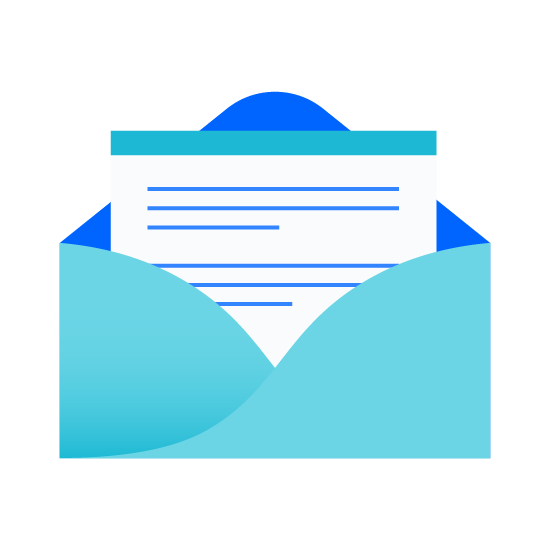 Open letter icon