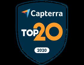 Capterra の上位 20