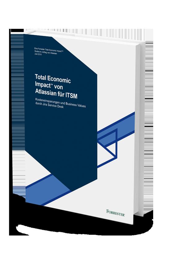 """PDF-Vorschau von """"The Total Economic Impact™ Of Atlassian For ITSM"""""""