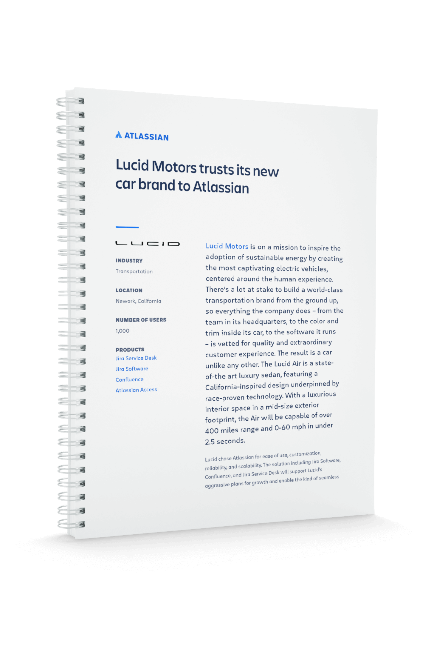Обложка PDF-файла Lucid Motors