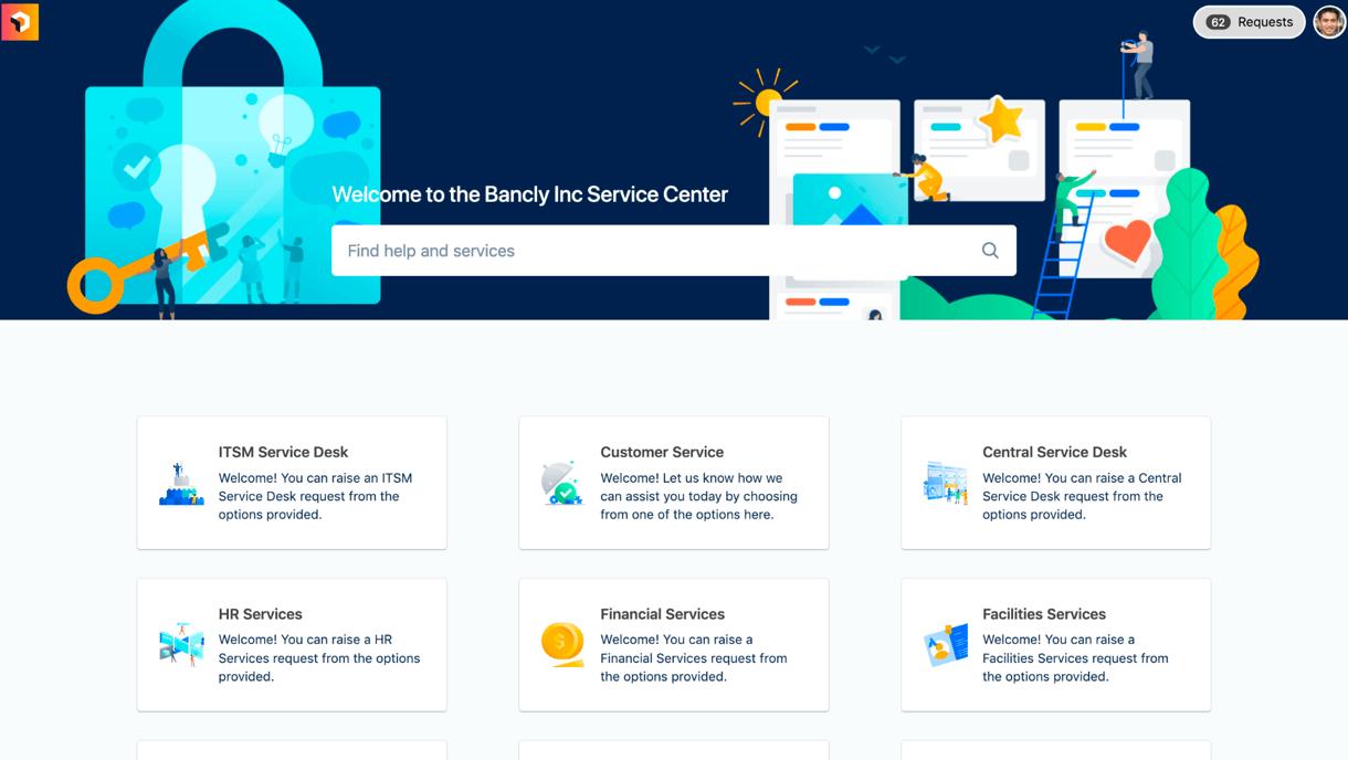 Image of customer portal