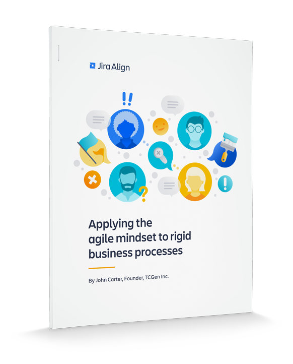 Applying the agile mindset cover