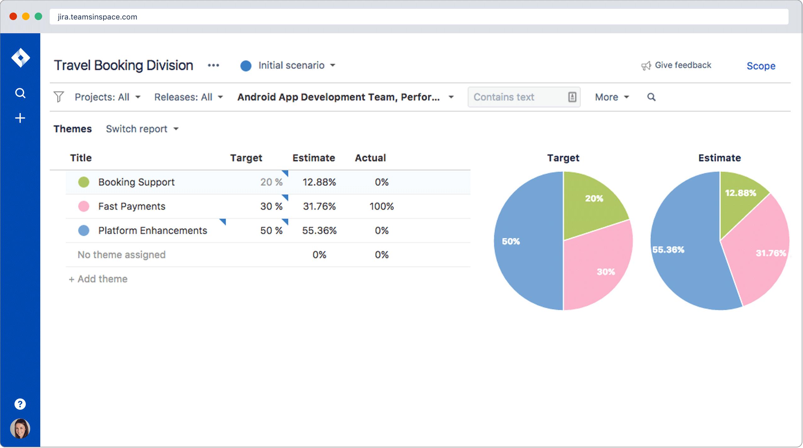 Tracking und Erstellen von Berichten