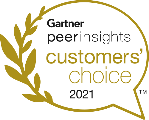 Gartner Peer Insights의 고객의 선택 2019 로고