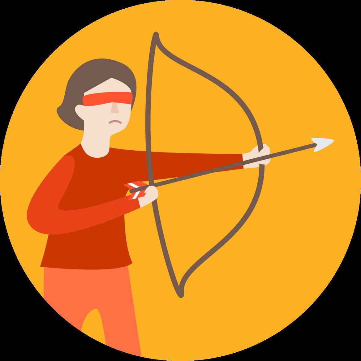 Cliquez ici pour découvrir les activités de team building qui vous empêchent de «tirer à l'aveugle» lorsqu'il est question de vos clients.