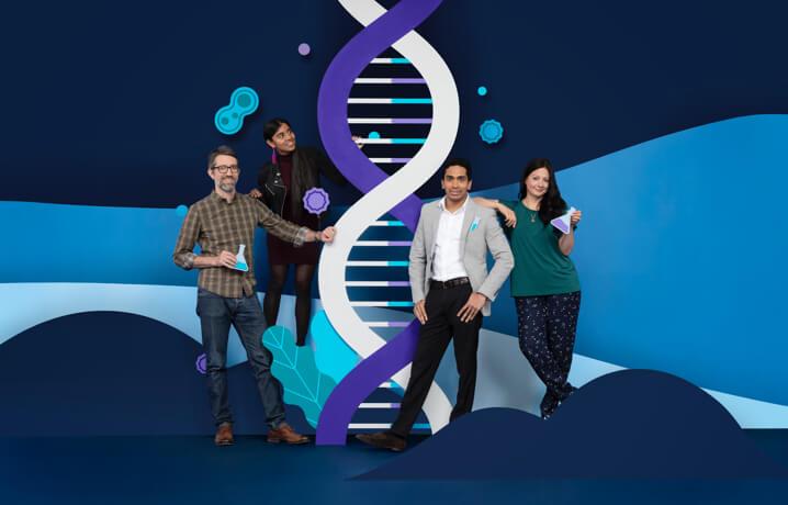 A Cancer Research csapata