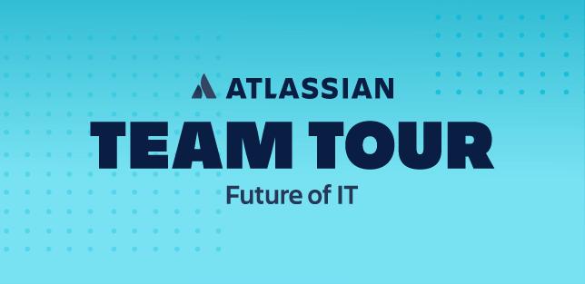 Atlassian Team Tour - il futuro dell'IT