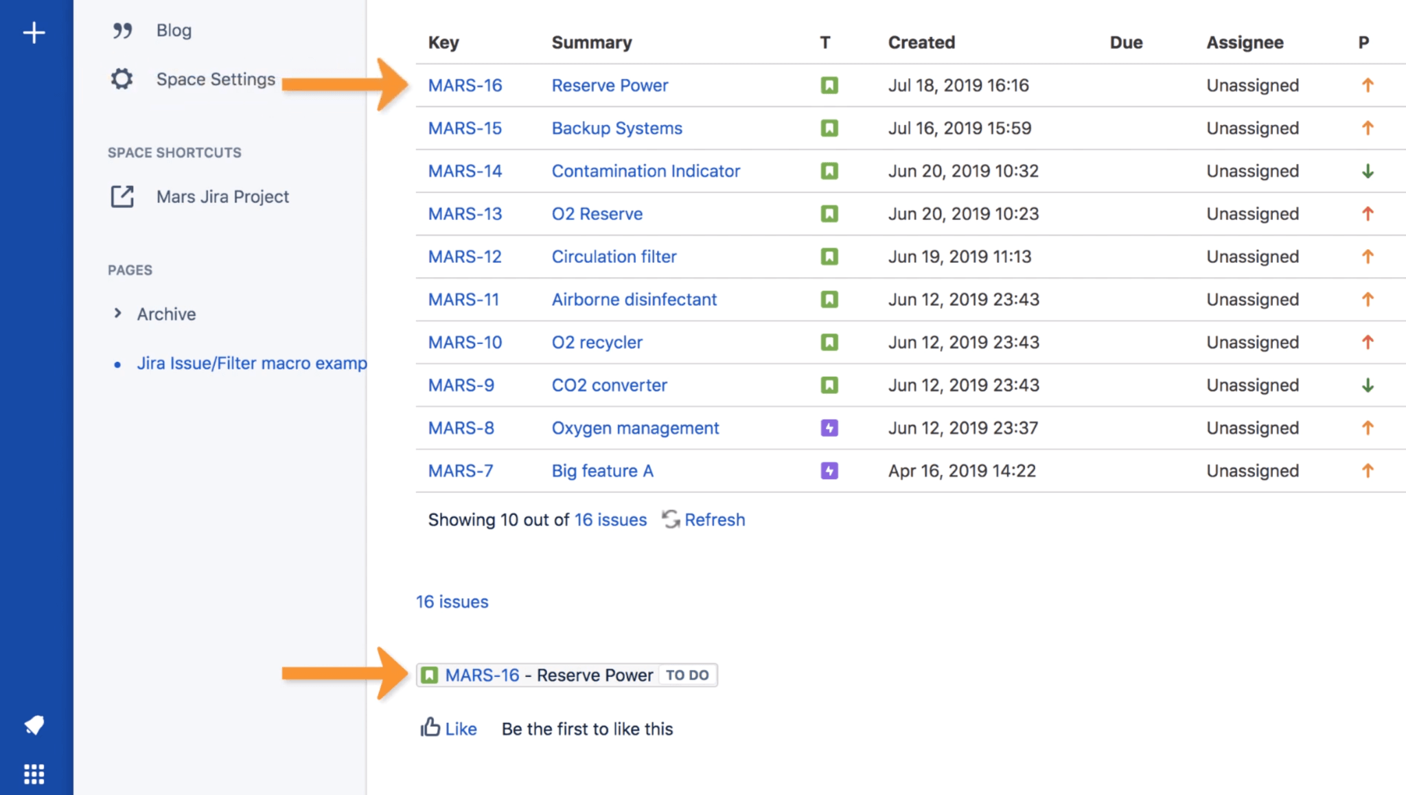 Joining Confluence and Jira